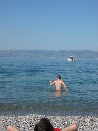 VVF Villages Evian : plage