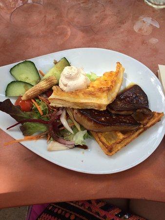 Le Café de Bouzigues : Foie gras poêlé