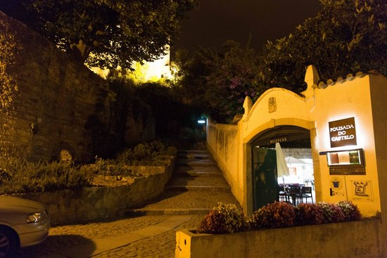 Pousada de Obidos Historic Hotel: Porta do Hotel