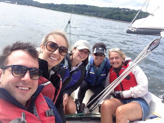 The WaterFront Center: Sailing lesson from the best, Request LIZ!!!