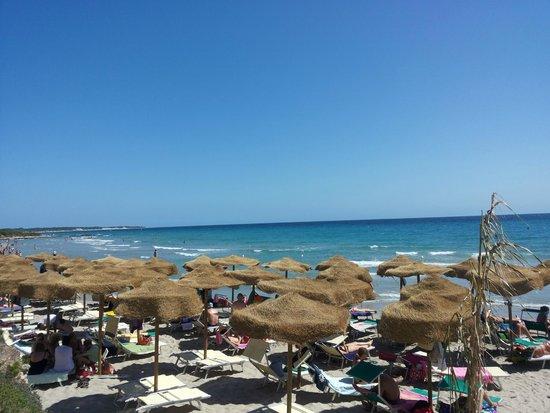 Baia dei Turchi: spiaggia