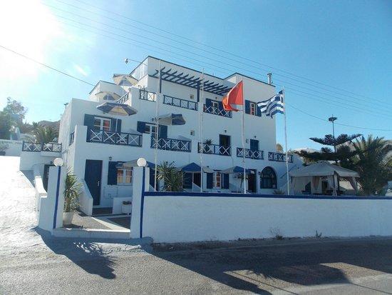 Margarita Hotel: Façade de l'Hôtel