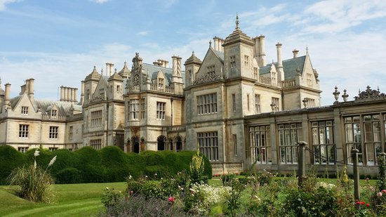 Stoke Rochford Hall: From the grounds