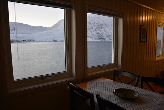Ersfjordbotn Kystferie: view from our cabin (2)