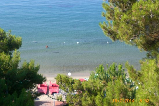 Hotel Punta Licosa: vista mare