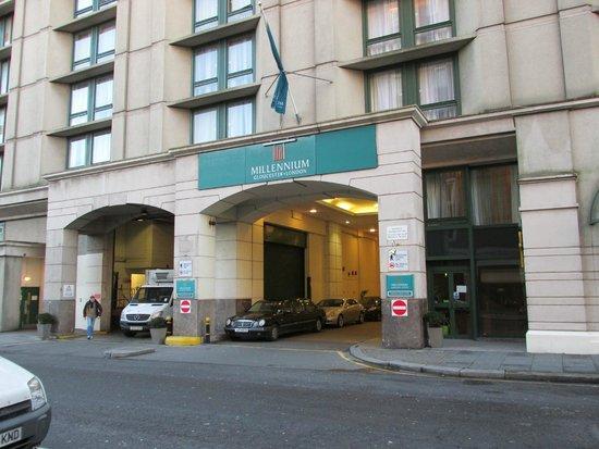 Millennium Gloucester Hotel London Kensington : Hotel Entrance