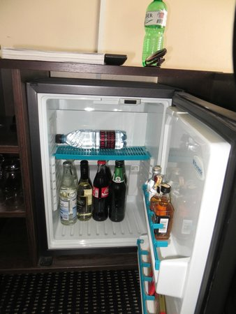 The Square Copenhagen : minibar (everything you pay)