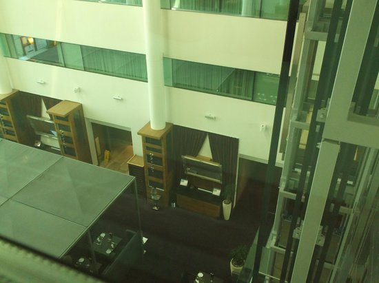 Sofitel London Heathrow: View from room, looking down
