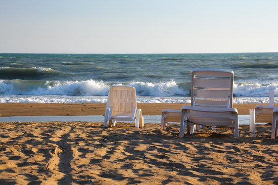 Baia di Ulisse Wellness & SPA: На пляже