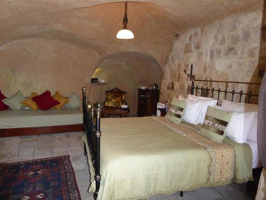 Dere Suites Cappadocia: Zona Cama