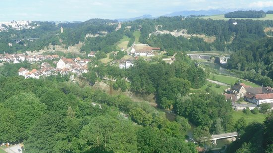 View from NH Fribourg