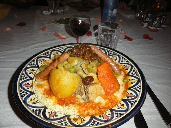 Riad Watier : Chicken tagine