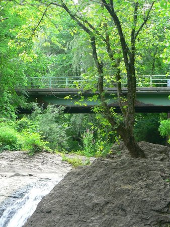 Captain Schoonmakers: The little bridge over the creek/waterfall