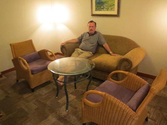 Victoria Regia Hotel & Suites: La salita