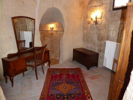 Dere Suites Cappadocia: Zona vestidor