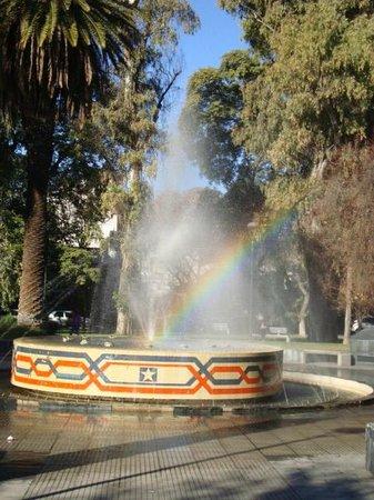 El Portal Suites: Plaza Chile y el Arco Iris
