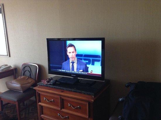 Crowne Plaza Hotel Englewood: TV