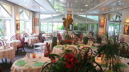Hotel Le Rivage : Restaurant