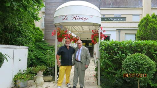 Hotel Le Rivage : Our Host the extraordinary Mr Bereaud