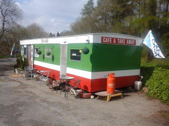 A5 Bacon Bar: caravan
