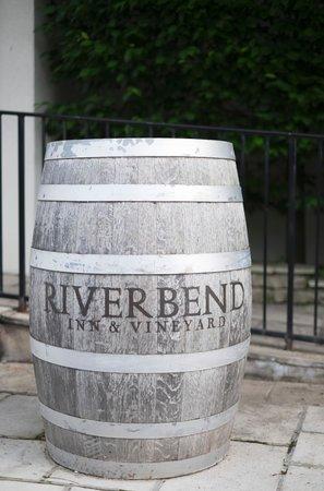Riverbend Inn and Vineyard: Barrel