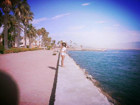 Estero Beach Hotel & Resort: Walking