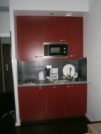 Adagio Brussels Grand Place : coin kitchenette