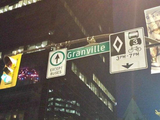 Granville Street Mall/Granville Street: Esse é o lugar!