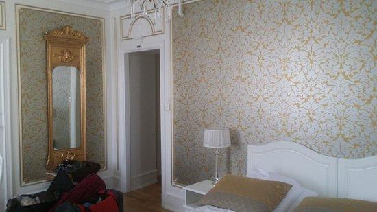 Grand Hotel Terminus: entrance