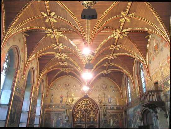 Hôtel de ville : Wonderful vaulted ceiling