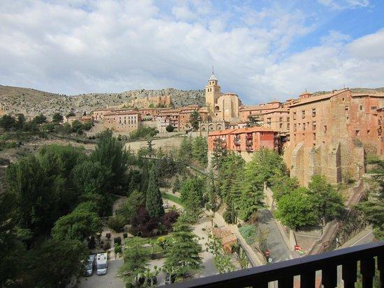 Albarracin Hotel: Vista desde la habitación