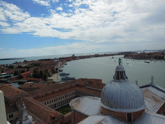 San Giorgio Maggiore: Fantastic Views from the Bell Tower