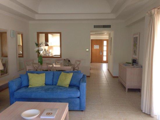 Vale d'Oliveiras Quinta Resort & Spa: One bedroom villa living area