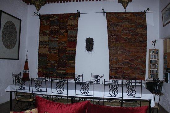 Riad Watier: Dining room