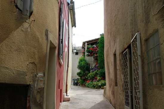 La Picholine: View from a small town in the neighborhood