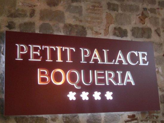 Petit Palace Boqueria Garden: logo