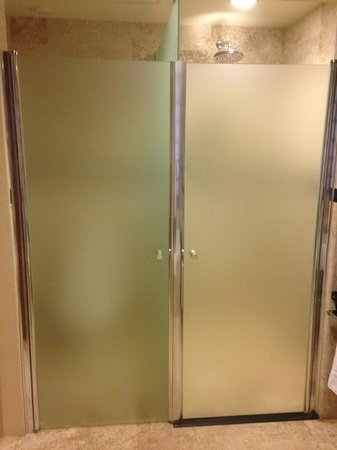 Grand Riviera Princess All Suites Resort & Spa: Left Toilet Right Shower