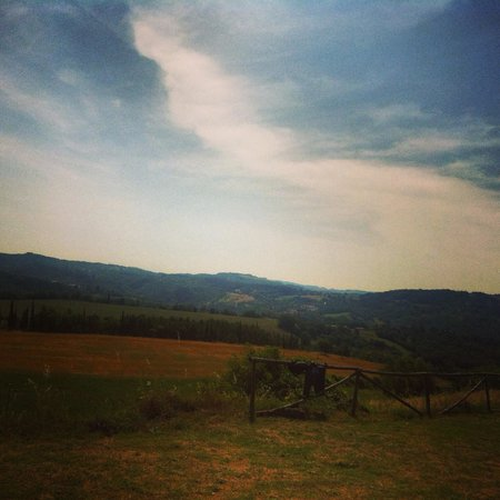 Country House Santa Felicita Paterna: Vista colline
