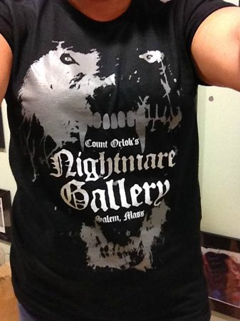 Count Orlok's Nightmare Gallery: Nightmare Gallery T-shirt