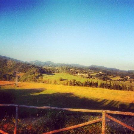 Country House Santa Felicita Paterna: Vista colline 2