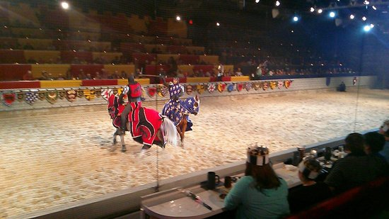 Medieval Times Dinner & Tournament: Knight's duel