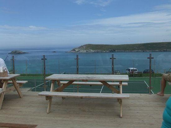 C-Bay Cafe: view from decking