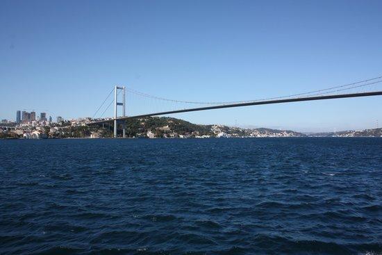 The Bosphorus Bridge: Puente del Bosforo (Atatürk)