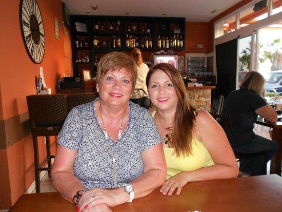Cafe Med: Lesley & Kirsty