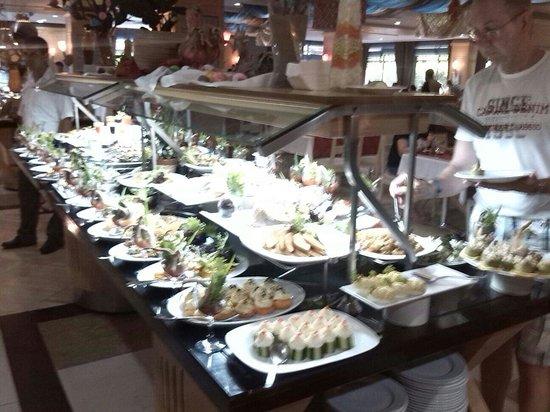 Can Garden Resort: Lecker essen