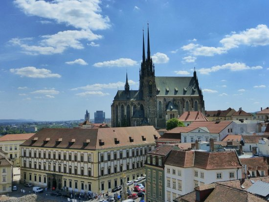 Namesti Svobody : st. peter & st paul