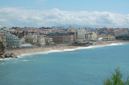 Apartamentos Maeva Mer et Golf: Blick auf Biarritz