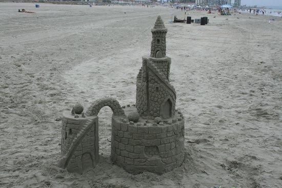 San Diego Sand Castles: Voila!