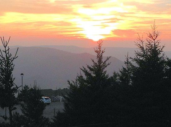 Snowshoe Mountain Resort : Westridge Sunset