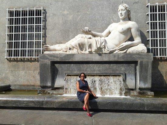 Piazza San Carlo : Espectacular!